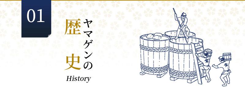 ヤマゲンの歴史History